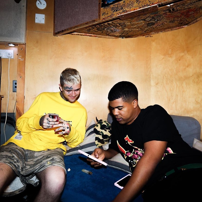 lilpeep ilovemakonnen xxxtentacion collaboration