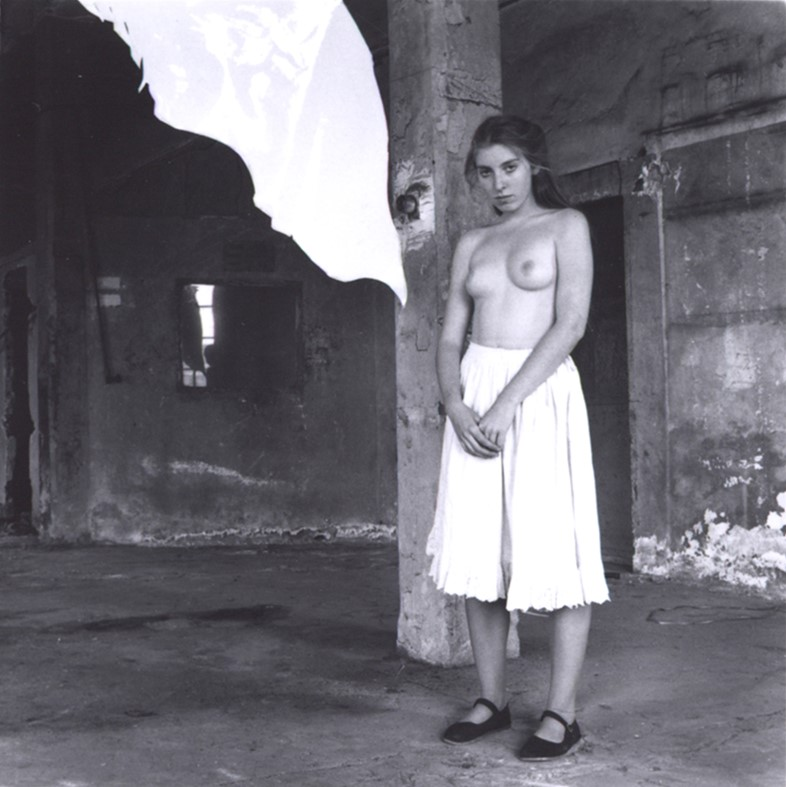 Francesca Woodman, From a series on Angels, Rome, 1977