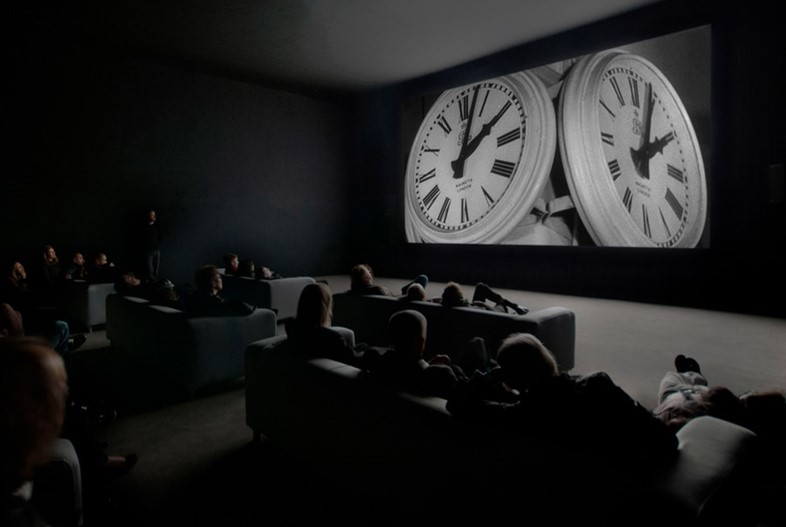 "Christian Marclay's ""The Clock"""
