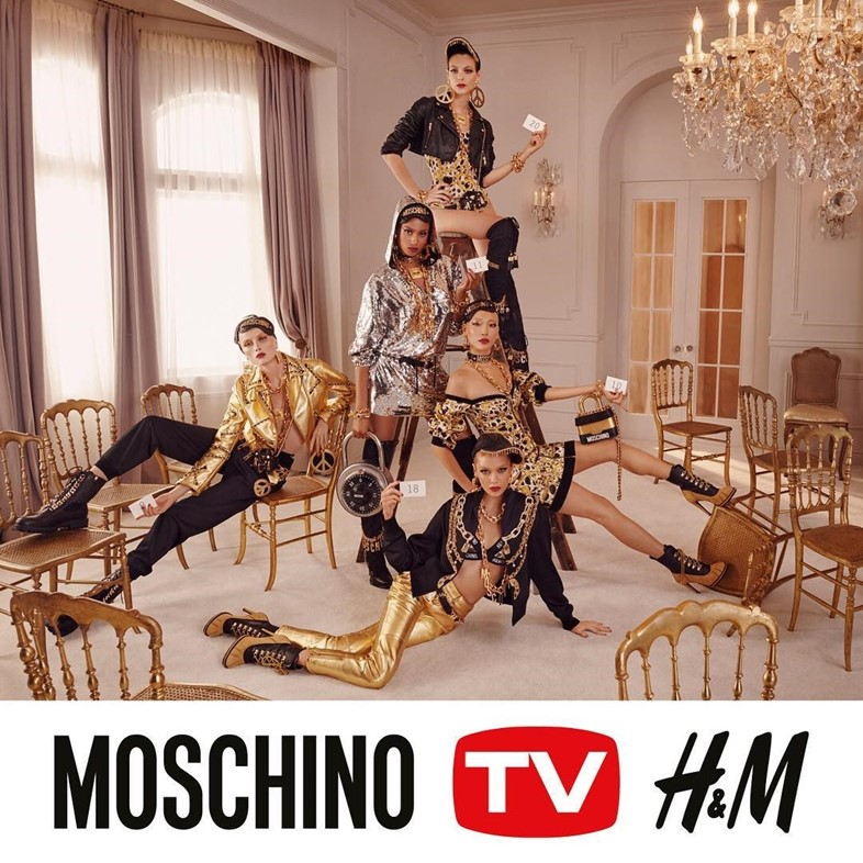 moschino h&m jeremy scott campaign steven meisel