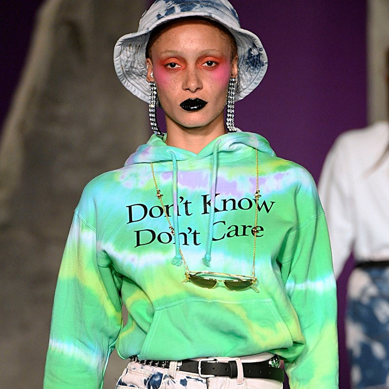 Ashley Williams AW18 tie dye fashion