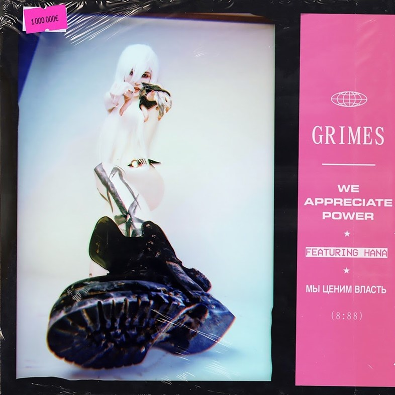 Grimes - We Appreciate Power artwork