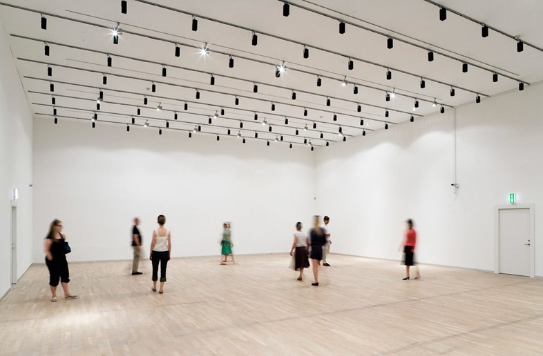 Jeppe Hein, Invisible Labyrinth