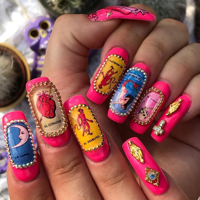Fuego Nails Is The Force Empowering Women And Brujas Alike With Nail