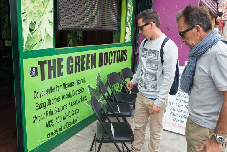 A Venice Beach cannabis dispensary