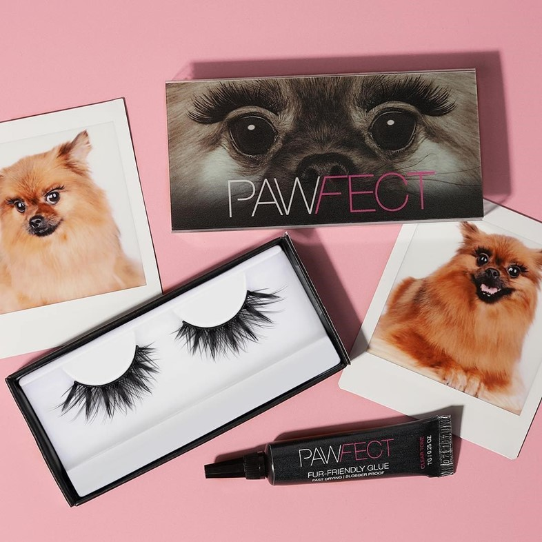Huda Beauty announce a lash line for dogs