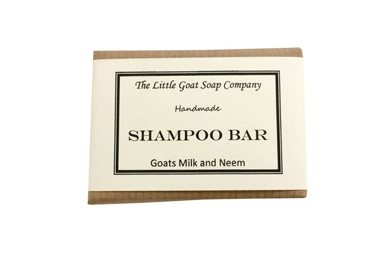 The Little Goat Soap Company Goat's Milk and Neem Shampoo Ba