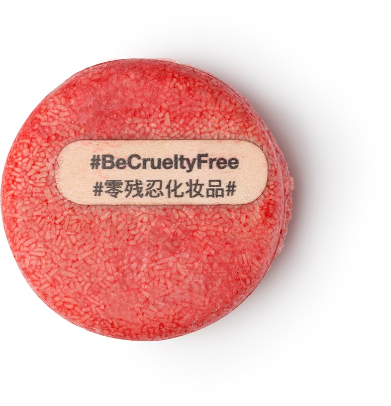 Lush New Cruelty-Free Shampoo Bar