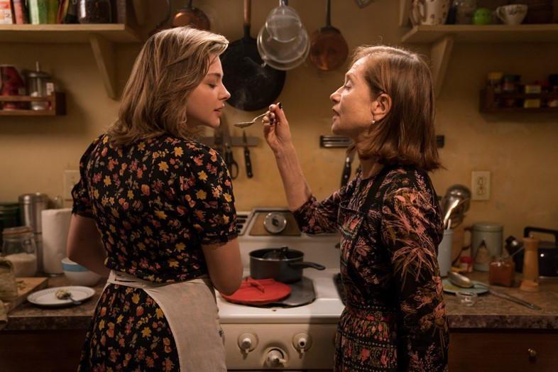 Isabelle Huppert and Chloe Grace Moretz in Greta