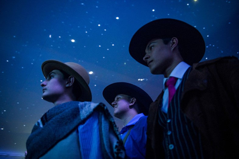 Cowboy cosplay at Red Bull Music Festival Los Angeles, 2019