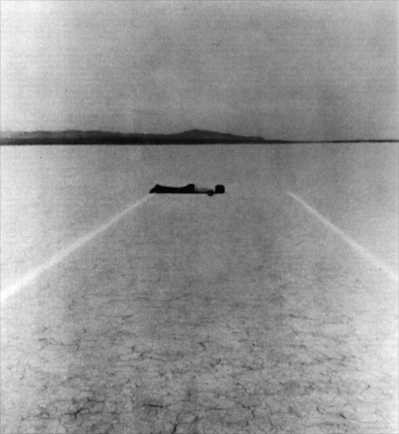 "Walter of Maria, ""Mile Long Drawing"" (1968)"