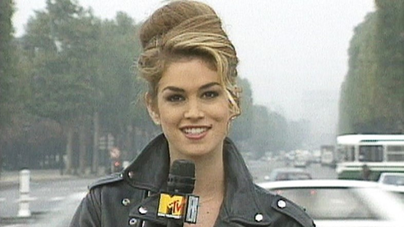 Cindy Crawford MTV House of Style supermodel fashion show