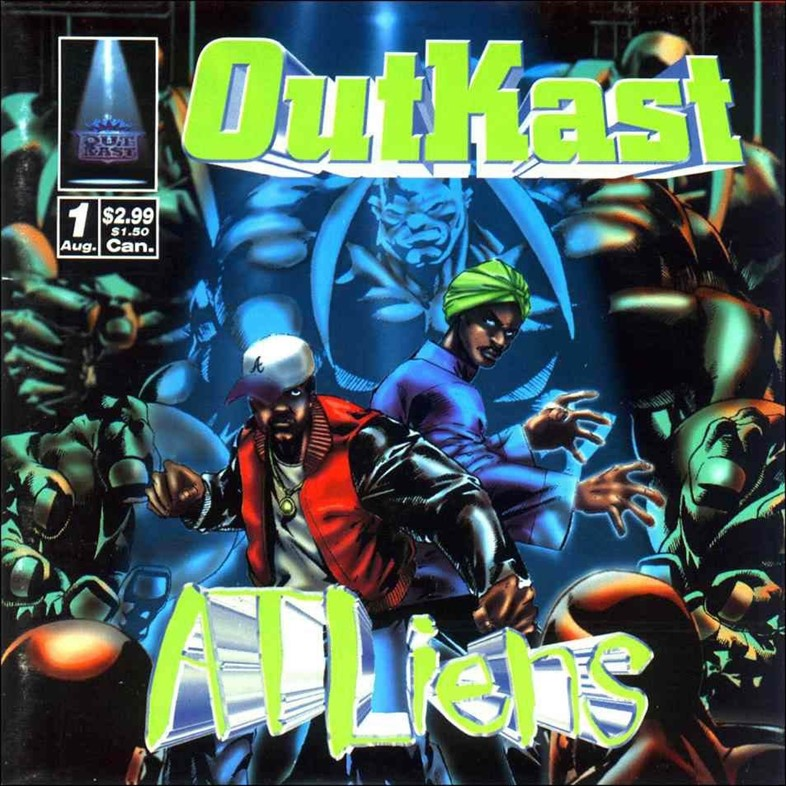Outkast ATLiens artwork