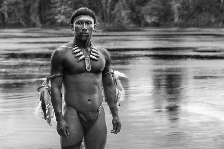 A still from Embrace of the Serpent