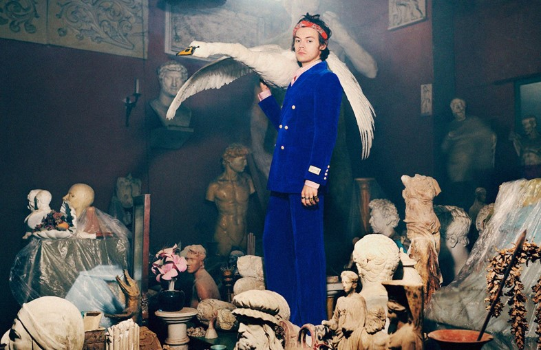 gucci pre fall harry styles harmony korine campaign