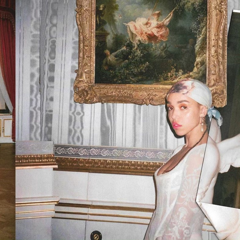 FKA twigs in AVANTgarden issue five