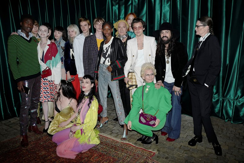 Gucci Mémoire talents and Alessandro Michele