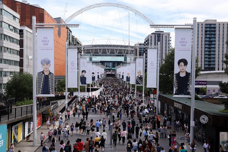 BTS appear at Wembley