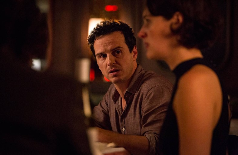 Andrew Scott and Phoebe Waller-Bridge in Fleabag
