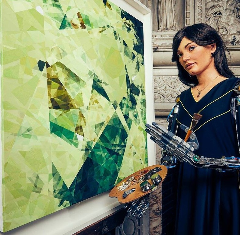 The AI artist Ai-Da has made over £1 million ahead of its first solo show