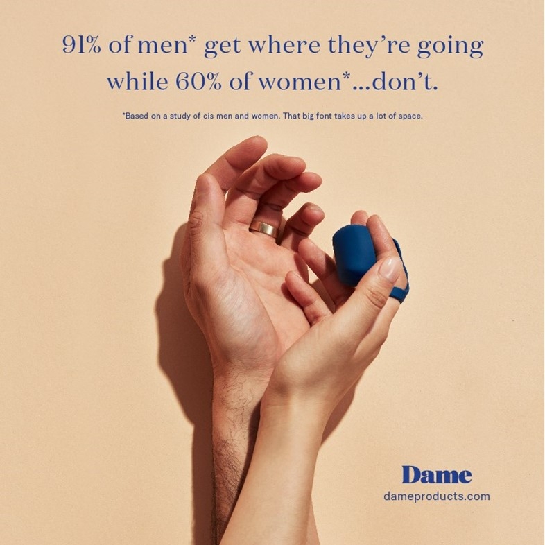 Dame Products sex toy advert
