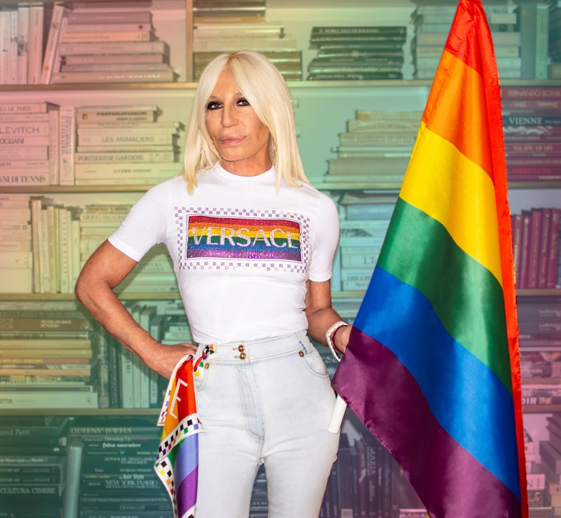 Donatella Versace is now officially a gay icon
