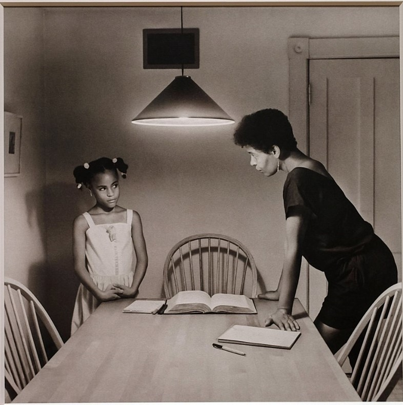 Carrie Mae Weems, taken from the Kitchen Table Series