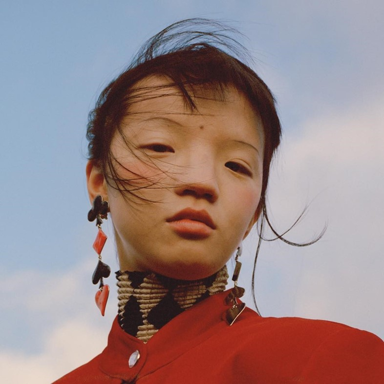 Chinese model Tin Gao has captured the imagination of the fashion industry