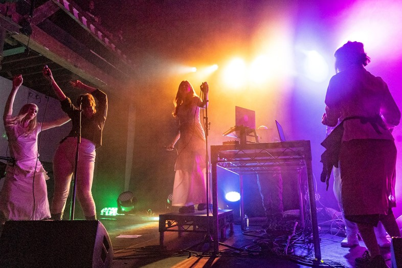 Holly Herndon live at Pioneer Works