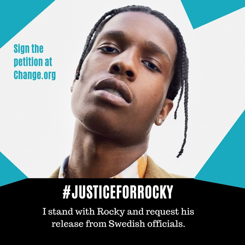 Petition to release A$AP Rocky from prison