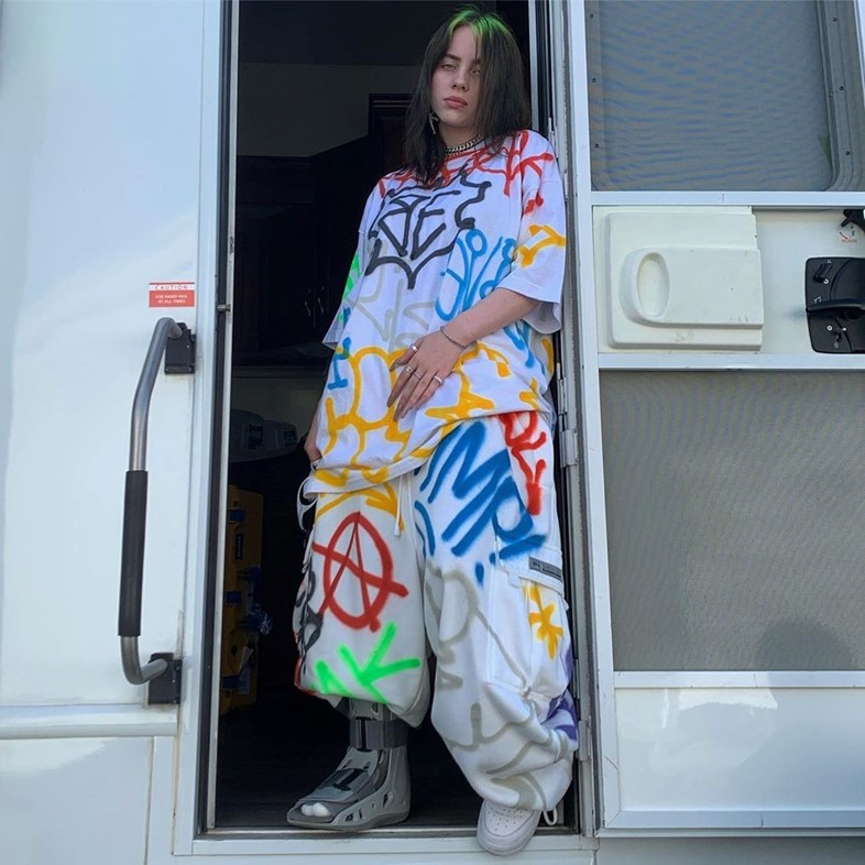 Billie Eilish doesn't care what you think of her style