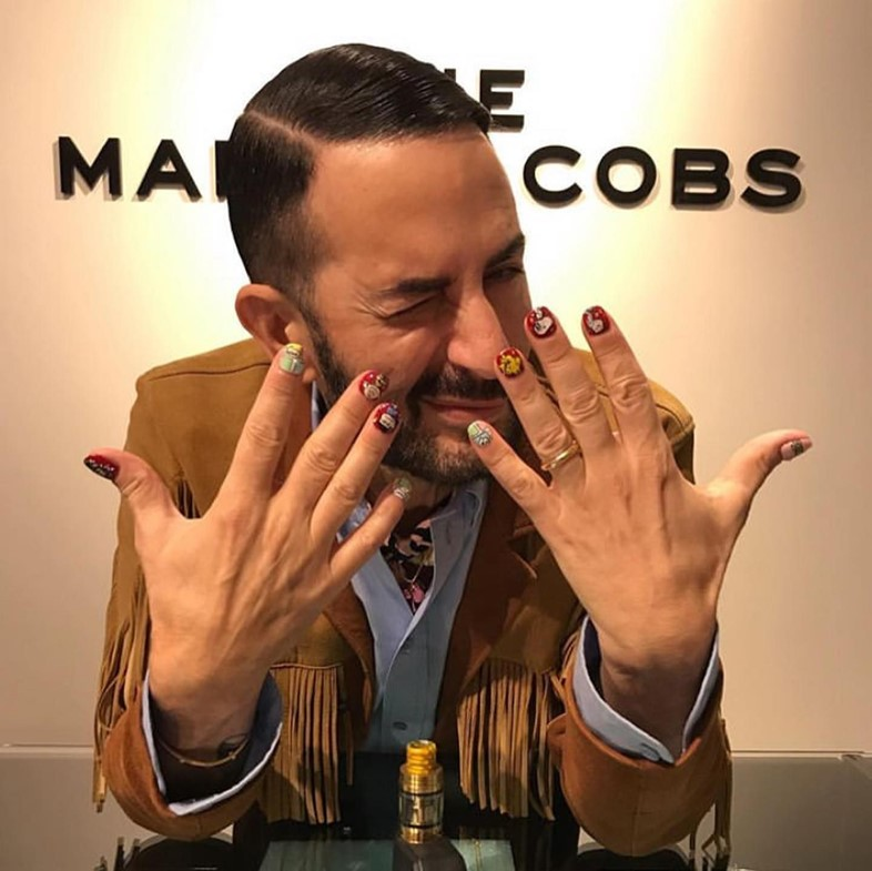 Marc Jacob's nails