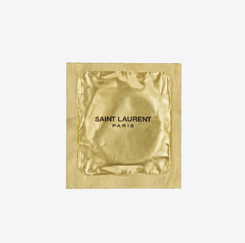 Saint Laurent are selling condoms now