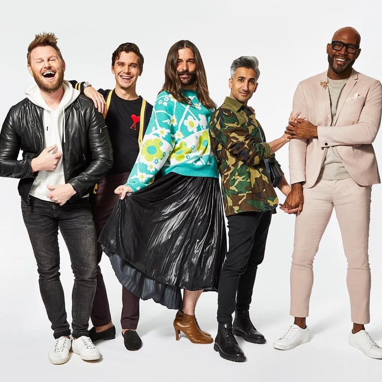 The Fab Five from Queer Eye