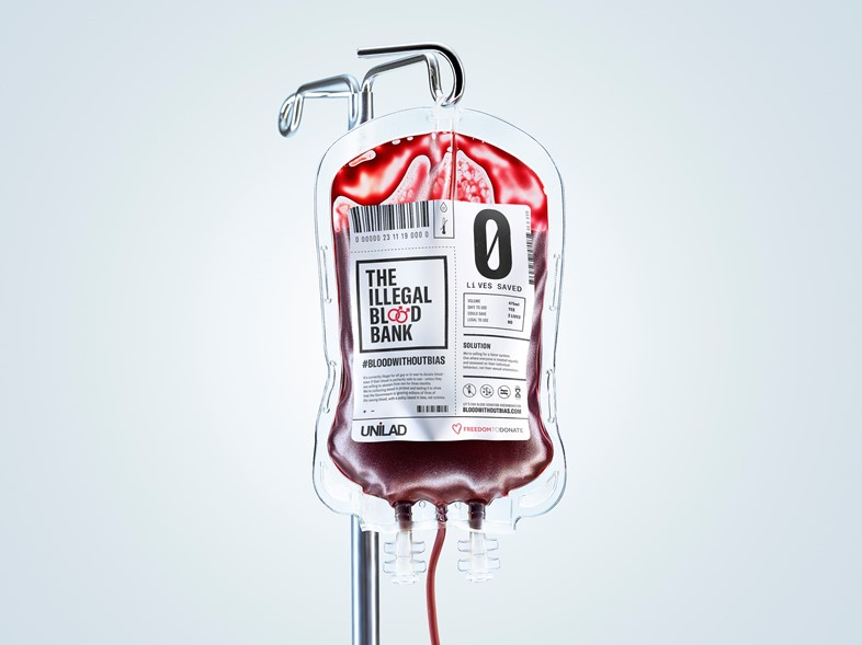 Gay and bisexual men set up an 'illegal' blood bank