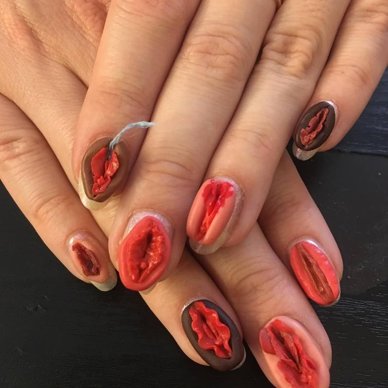 Nail Artist Frederique Olthuis Is Not Taking Things Too Seriously Dazed Beauty