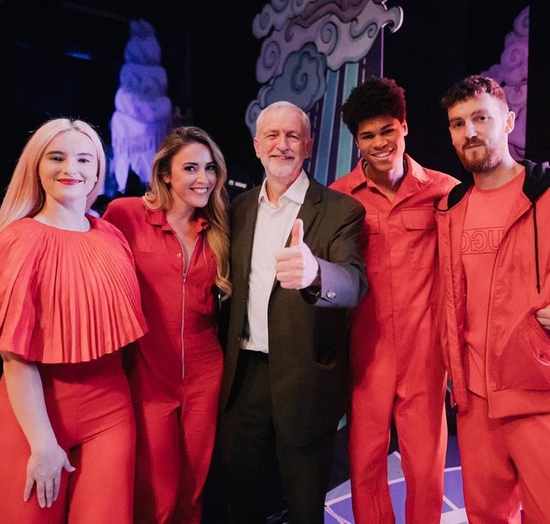Jeremy Corbyn, Lily Allen, and M.I.A. launch Labour's Arts for All policy