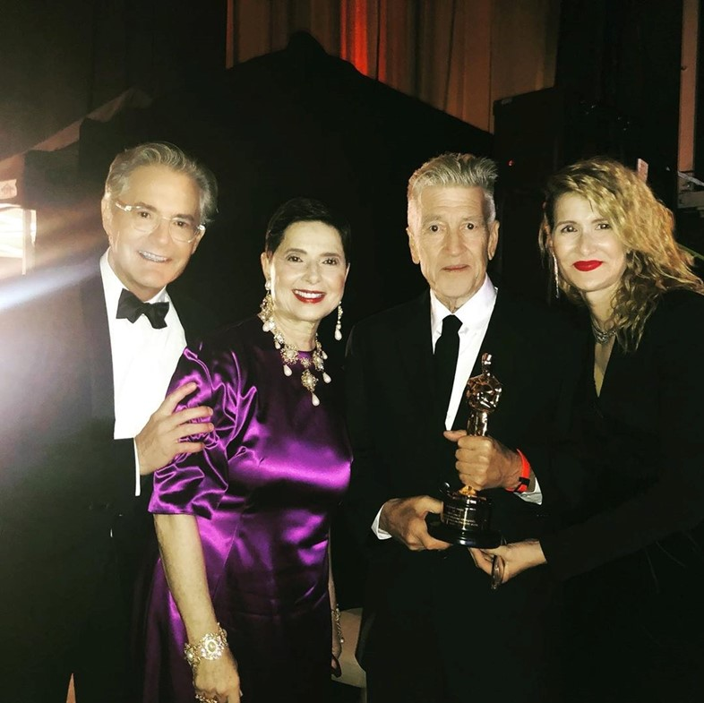 Here's how David Lynch really reacted to his Oscar win