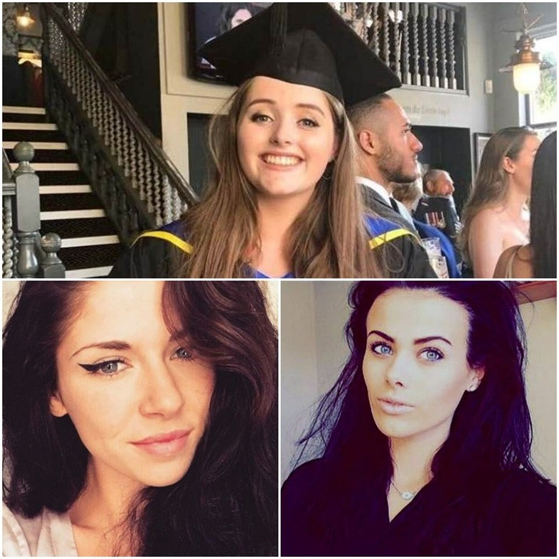 Grace Millane, Anna Florence Reed, India Chipchase