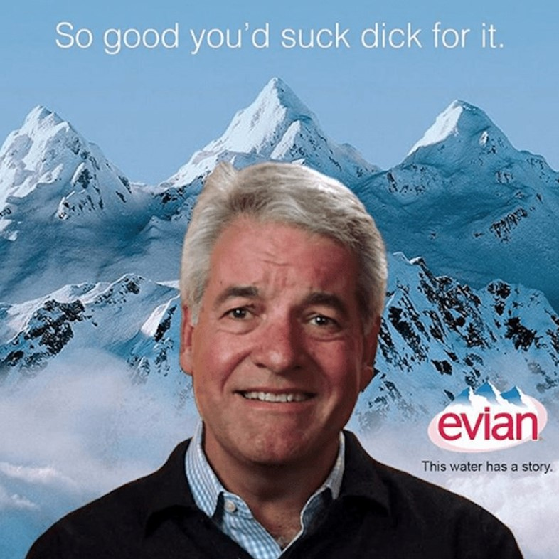 Fyre Fest's human meme is now the face of Evian
