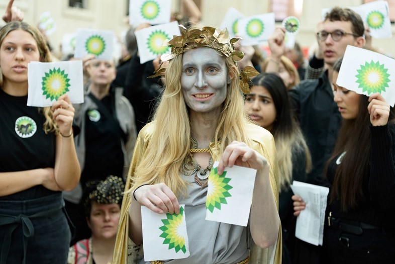 BP protesters
