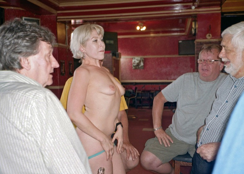 Inside one of the oldest adult entertainment pubs in the UK
