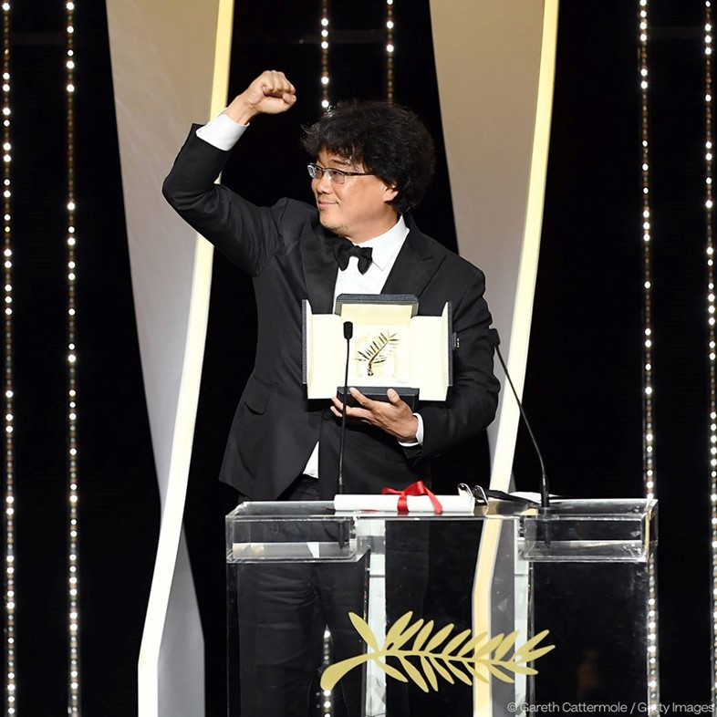 Bong Joon-ho wins the Palme d'Or, 2019