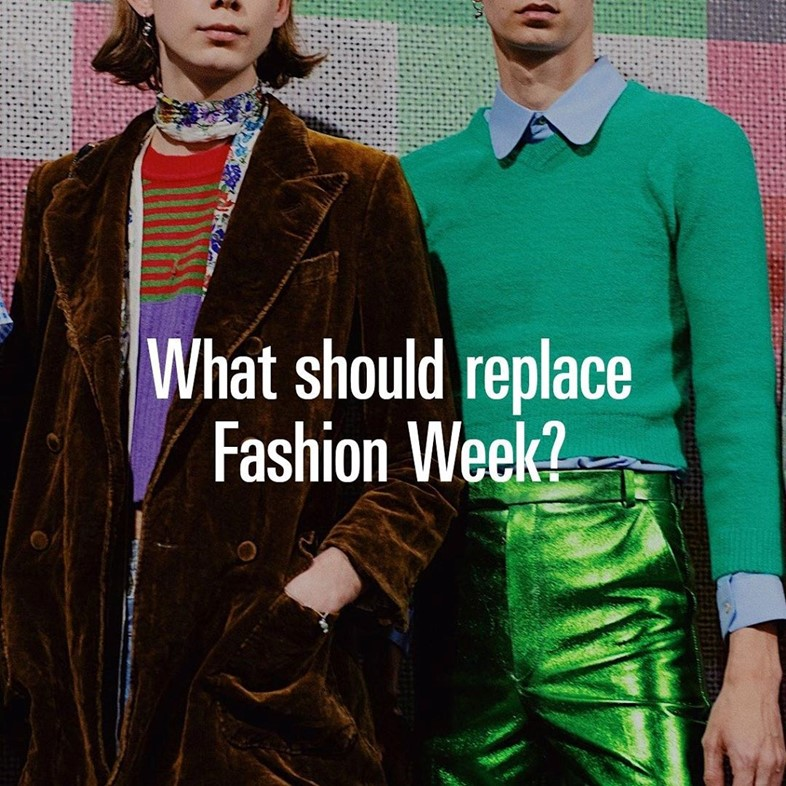 what should replace fashion week instagram coronavirus