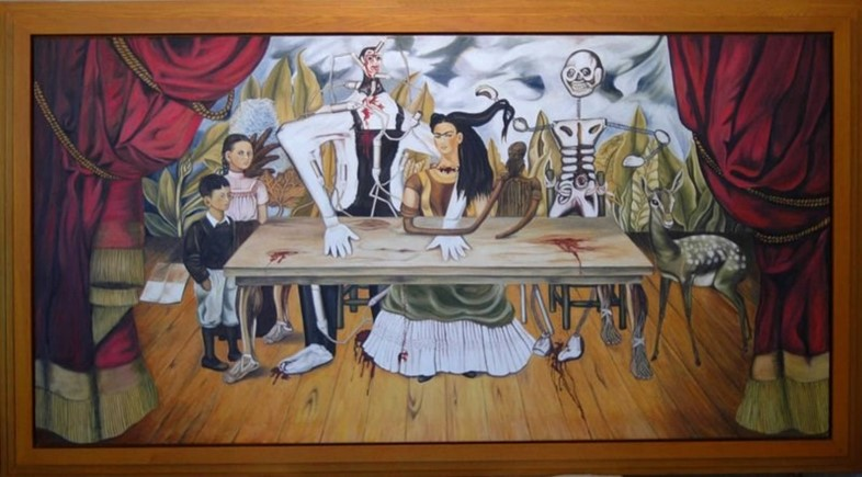 Frida Kahlo, The Wounded Table replica
