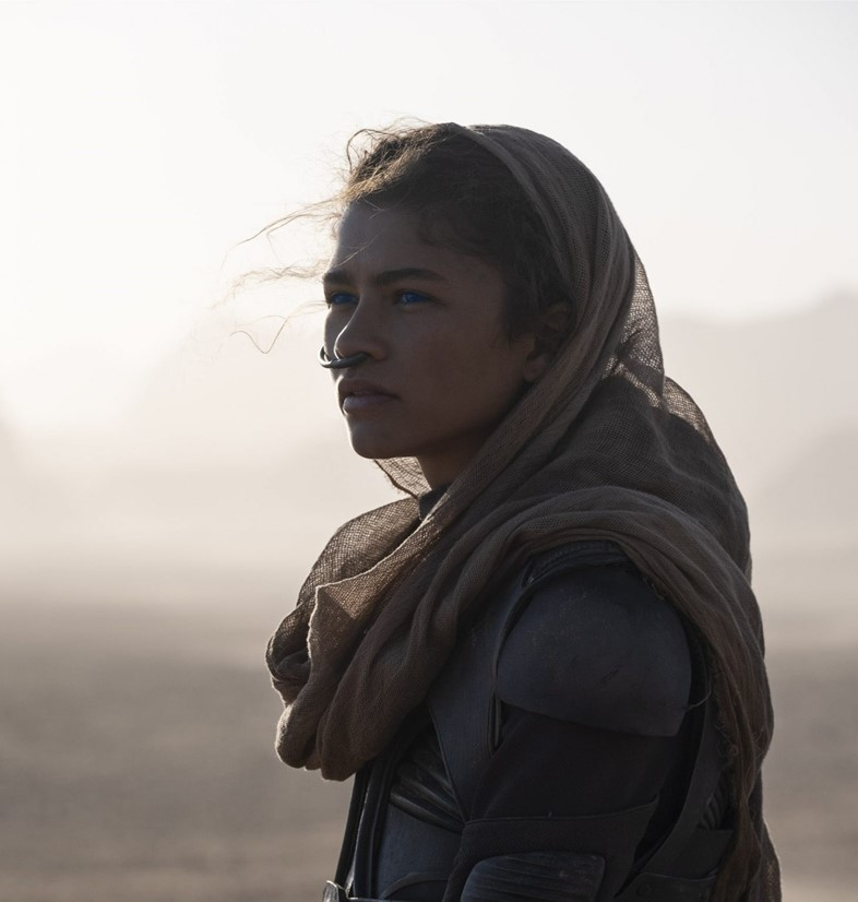 Zendaya in Denis Villeneuve's Dune