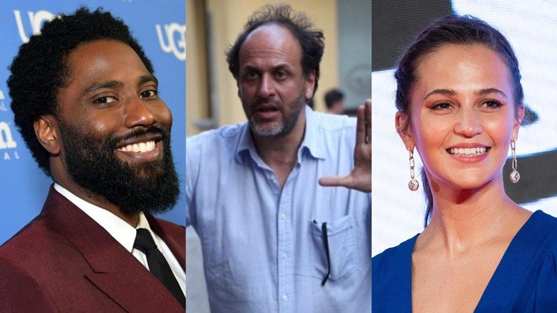 John David Washington, Luca Guadagnino, Alicia Vikander