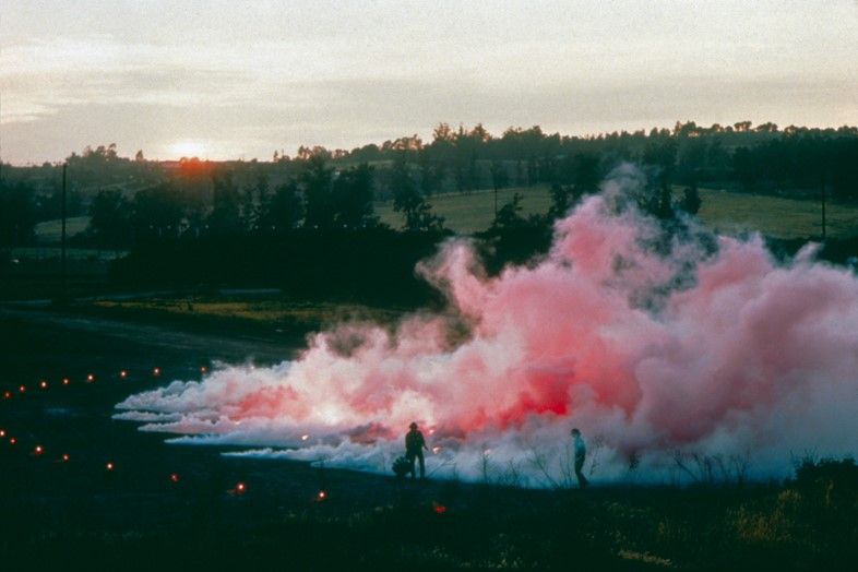"""Judy Chicago. """"Pink Atmosphere"""" (1971)"""