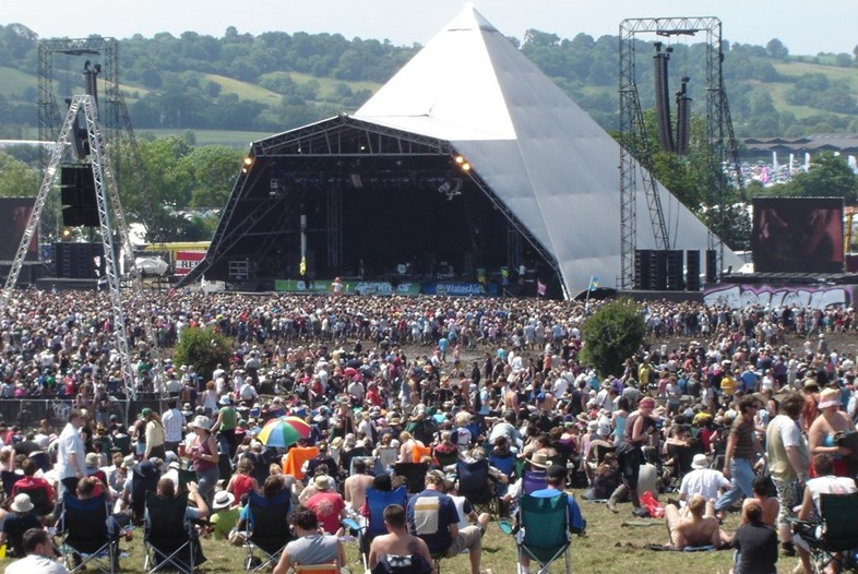 The Pyramid Stage, Glastonbury Festival