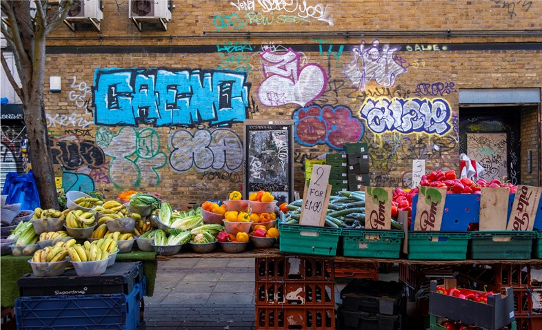 """""""Peckham Fruit and Veg"""", Telephone Booths (2020-ongoing)"""